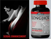 Sexual Power - LONGJACK  2170mg Up Your Size - Boosts Male Fertility Pills  1B