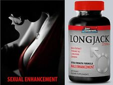 Men Sex Power - LONGJACK  2170mg Up Your Size - Boosts Male Fertility Pills 1B