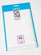 DAVO CRISTAL STROKEN MOUNTS C92 (215 x 96) 10 STK/PCS