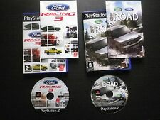 LOT 2 JEUX Sony PLAYSTATION 2 PS2 FORD RACING 3 + OFFROAD (complet, envoi suivi)