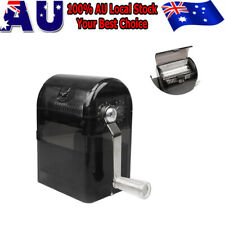 Muller Shredder Smoking Grinder Case Manual Hand Crank Crusher Tobacco Cutter