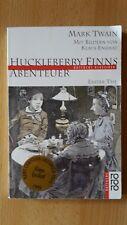 Mark Twain: Huckleberry Finns Abenteuer - 1.Teil, mit Bildern von Klaus Ensikat