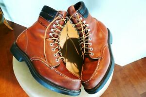 vtg   Red Wing moc toe Boots sz 10.5 B  1990's  # 06080 made in USA