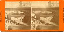 Stone Bridge Pawtucket Rhode Island Stereoview