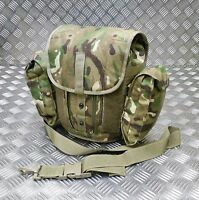 26d48b024ed9 Genuine British Army Gas Mask Bag MTP Camo Field Pack   Respirator Case  Molle G1