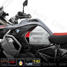2 Adesivi Fiancate Serbatoio moto BMW R1200 1250 gs Adventure LC gray rosso nero