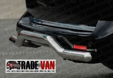 VW T5 TRANSPORTER VAN CARAVELLE REAR BAR PROFILE 2003-09  STAINLESS STEEL CHROME