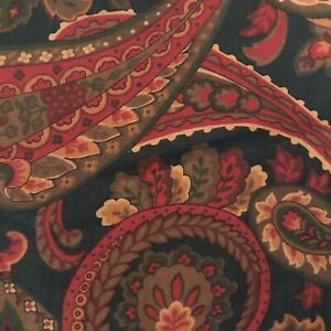 Lot of 2 Derby Pillow Shams Standard Paisley Style 6863 Made in USA