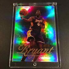 KOBE BRYANT 1999 FLAIR SHOWCASE #50 REFRACTOR LIKE CARD LAKERS NBA BLACK MAMBA