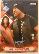2013 TNA Impact Wrestling Live Mr Anderson SP Gold Insert Card # 14 / 50