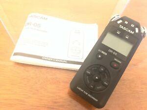 TASCAM DR-05 Portable Digital Audio Recorder