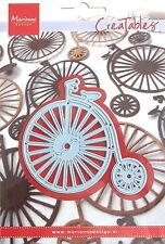 Marianne Creatables Die Cut, Bicicleta Vintage, Artesanales, elaboración de tarjetas, 0262