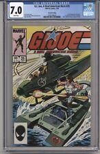 G.I. JOE, A REAL AMERICAN HERO #25 CGC 7.0 WPGS 2ND PRINT ZARTAN APPR GUSTOVICH