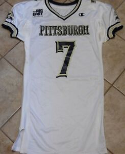 PITTSBURGH PANTHERS VINTAGE GAME JERSEY PITT GAME JERSEY T. MORRIS BIG EAST