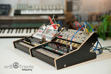 Korg volca rack 2x2 madera soporte partes laterales Wooden destop stand like eurorack
