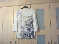 Women's plus style cotton blend top. Bon Marche, size XL (22/24). 3/4 sleeve.