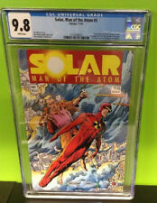 Solar Man of the Atom # 3 . Valiant WHITE PAGES CGC 9.8  Limited print run