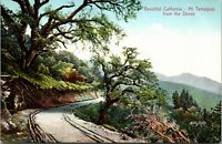 Vintage PNC Postcard - Beautiful California - Mt. Tamalpais From the Divide