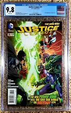 Justice League #31 CGC 9.8 1st Full App Of Jessica Cruz (DC, 2014) Green Lantern