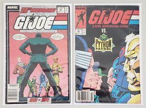 G.I. JOE A REAL AMERICAN HERO ISSUES #86 & #88 MARVEL COMICS 1989
