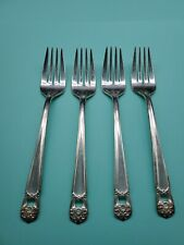 International Eternally Yours Silver plate Salad Fork Set of 4