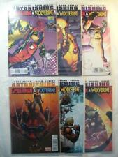 Astonishing Spider-Man & Wolverine Set 1-6  Marvel Limited Series *NEW**MINT*