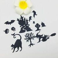 Metal Halloween Cutting Dies Stencil DIY Scrapbooking Album Paper Card Embossing