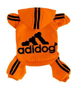 ADIDOG Dog Hoodies Dog Clothes Dog Sweater 4Leg Jumpsuit Warm Sweat Shirt Cotton