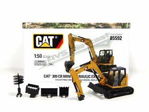 Cat Caterpillar 309 CR Mini Hyd Excavator 1/50 Scale Diecast Masters 85592