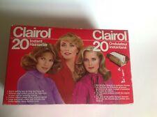 Clairol 20 Style Setter C-20-S Hot Roller Curler Instant Hairsetter Denmark NIB