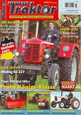 Oldtimer Traktor 8/13 Steyr 280/280a/Eicher EA 600/Bucher KT 10/David Brown 770