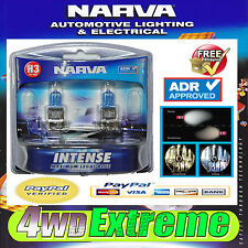 NARVA H3 GLOBES BLUE INTENSE 12V 55W 48471BL2 LIGHTS HEADLIGHTS PARKER T10 CAR