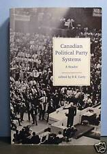 Canadian Political Party Systems,  Historical Overview