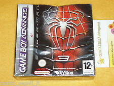 SPIDER MAN 3 Game Boy Advance GBA DS NUOVO v.ITALIANA