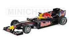 Minichamps 100105 RED BULL RB6 F1 MODELLO RACE CAR VETTEL 1st ABU DHABI 2010 1:43