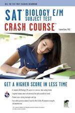 SAT Subject Test: Biology E/M Crash Course Book + Online (SAT PSAT ACT (College