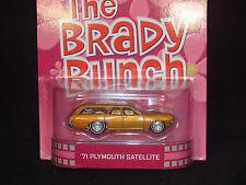 2013 HOT WHEELS RETRO TV BRADY BUNCH '71 PLYMOUTH SATELLITE HOTWHEELS MOPAR HTF