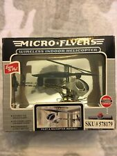 Micro Flyers Wireless Indoor Helicopter Led Strobe Lights - Nib