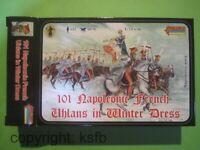 1:72 Strelets #101 Napoleon Frankreich Ulanen Kavallerie in Winter Uniform Armee