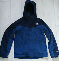 "The North Face Hyvent Jacket ""M"" Blue Ski Snowboard Jacket Mens Jacke"
