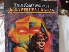 Task Force Game, Star Fleet Battles Captain's Log #16, New Old Stock