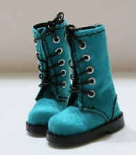 Turquoise Boots For Blythe/Pullip/Monster High/Dal/Momoko/Licca: B3_331