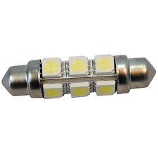12V 42MM WHITE FESTOON LED 12 SMD STYLE 264LM 360 DEGREE LIGHT BULB DOME LAMP