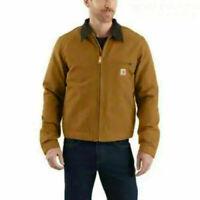 Carhartt Detroit Duck Jacket 103828 Brown Mens Large Regular NWT & Sealed