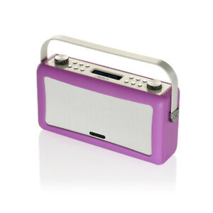 VQ View Quest Hepburn DAB+ FM Radio Bluetooth Speaker Audio System Aux Orchid