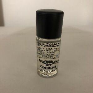 MAC Cleanse Off Oil Huile Sample  0.2oz/6ml Sample