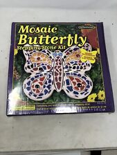 Mosaic Stepping Stone Kit Butterfly By Milestone 601950112760