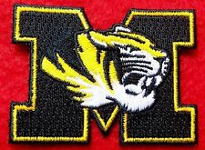 MISSOURI TIGERS   iron on embroidered PATCH COLLEGE UNIVERSITY OF SPORT SCHOOL