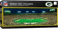 GREEN BAY PACKERS LAMBEAU FIELD STADIUM PANORAMIC JIGSAW PUZZLE NFL 1000 PC