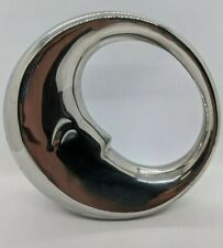 New ListingSilver Crescent Moon Piggy Bank